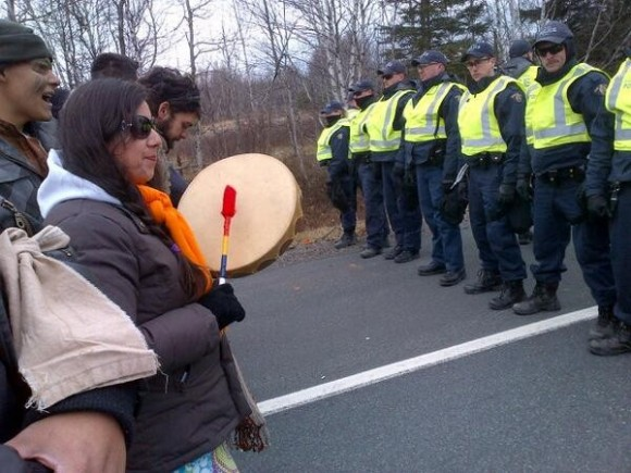 Andy Everson: Idle No More